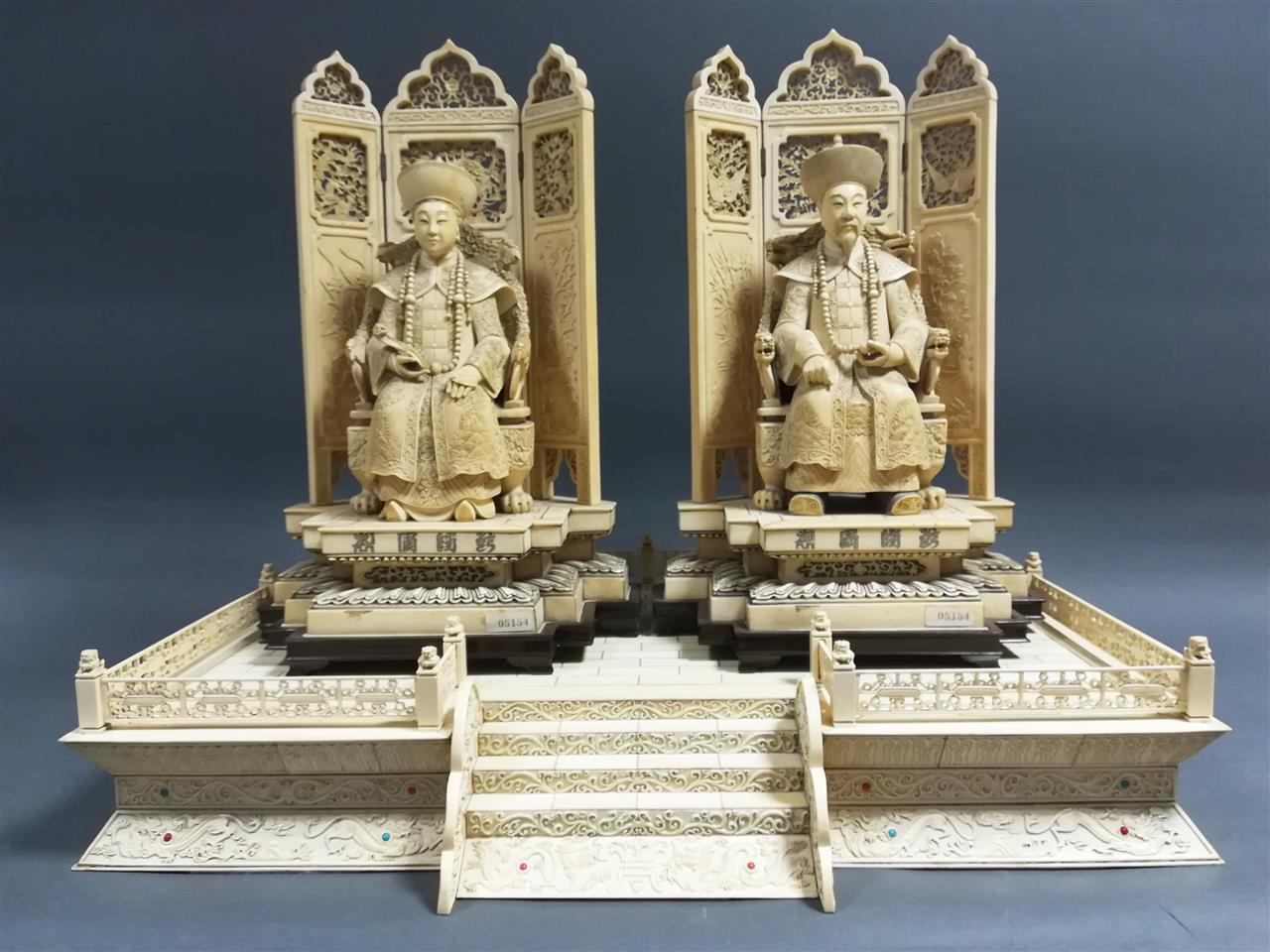 Chinese emperors of ivory